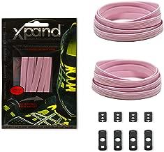 pink elastic shoe laces
