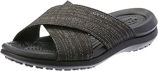Crocs Womens Capri Shimmer Xband Sandal