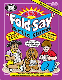 153 Fold and Say Artic Stories: S, R, L, D, F, G, K, T, V, CH, SH, TH, S, R, L, and S,R,L Blends