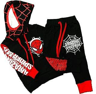 Hoodie and Pants Superhero Set