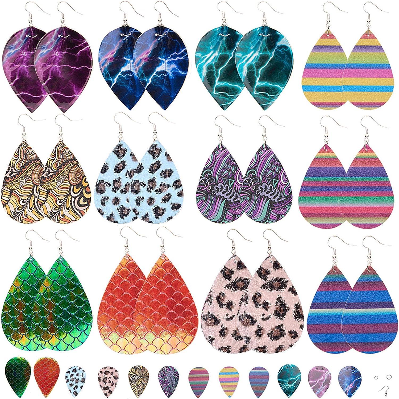 SUNNYCLUE DIY Make 12 Pairs 4 Mermaid Al sold out. Rainbow Style Skin Scales Ranking TOP17