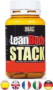 Perdre poids Fat Fast bruler les graisses thermogenique Lean Body 100 ...