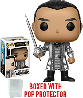 Funko Pop! Disney: Pirates of the Caribbean Dead Men Tell No Tales - Captain Salazar Vinyl Figure (Bundled with Pop BOX PROTECTOR CASE)