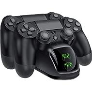 BEBONCOOL PS4 Controller... BEBONCOOL PS4 Controller Charger, DualShock 4 Controller USB Charging Station Dock, PlayStation 4...
