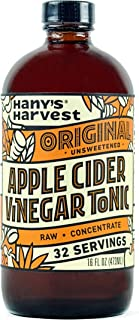 Hany's All Natural Original Fire Cider Tonic Unsweetened 16 oz