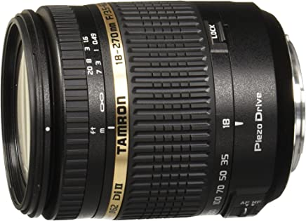 Tamron AF 18-270mm F/3.5-6.3 Di-II VC PZD Telephoto Zoom Lens with Hood for Sony DSLR Camera