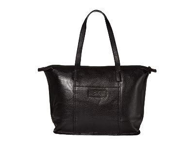 Scully Alley Tote Bag (Black) Handbags