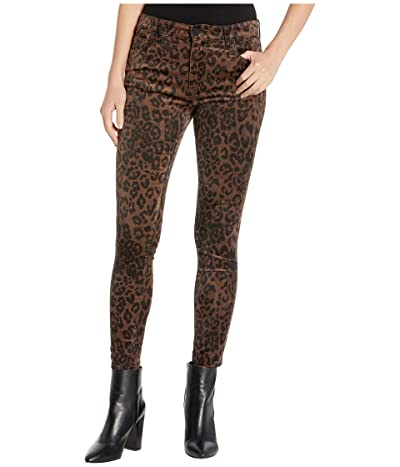 KUT from the Kloth Connie High-Rise Ankle Skinny Regular Hem in Brown (Brown) Women
