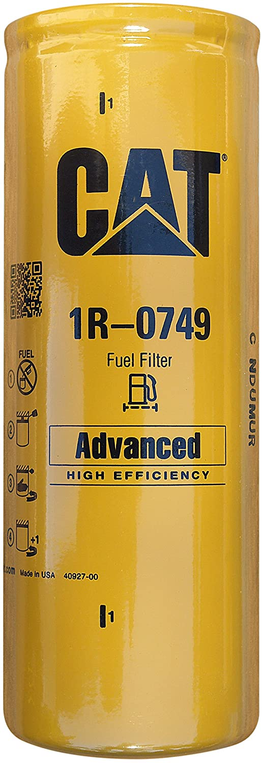 Caterpillar 1R-0749 Finally Shipping included popular brand Advanced High Multipa Efficiency Fuel Filter