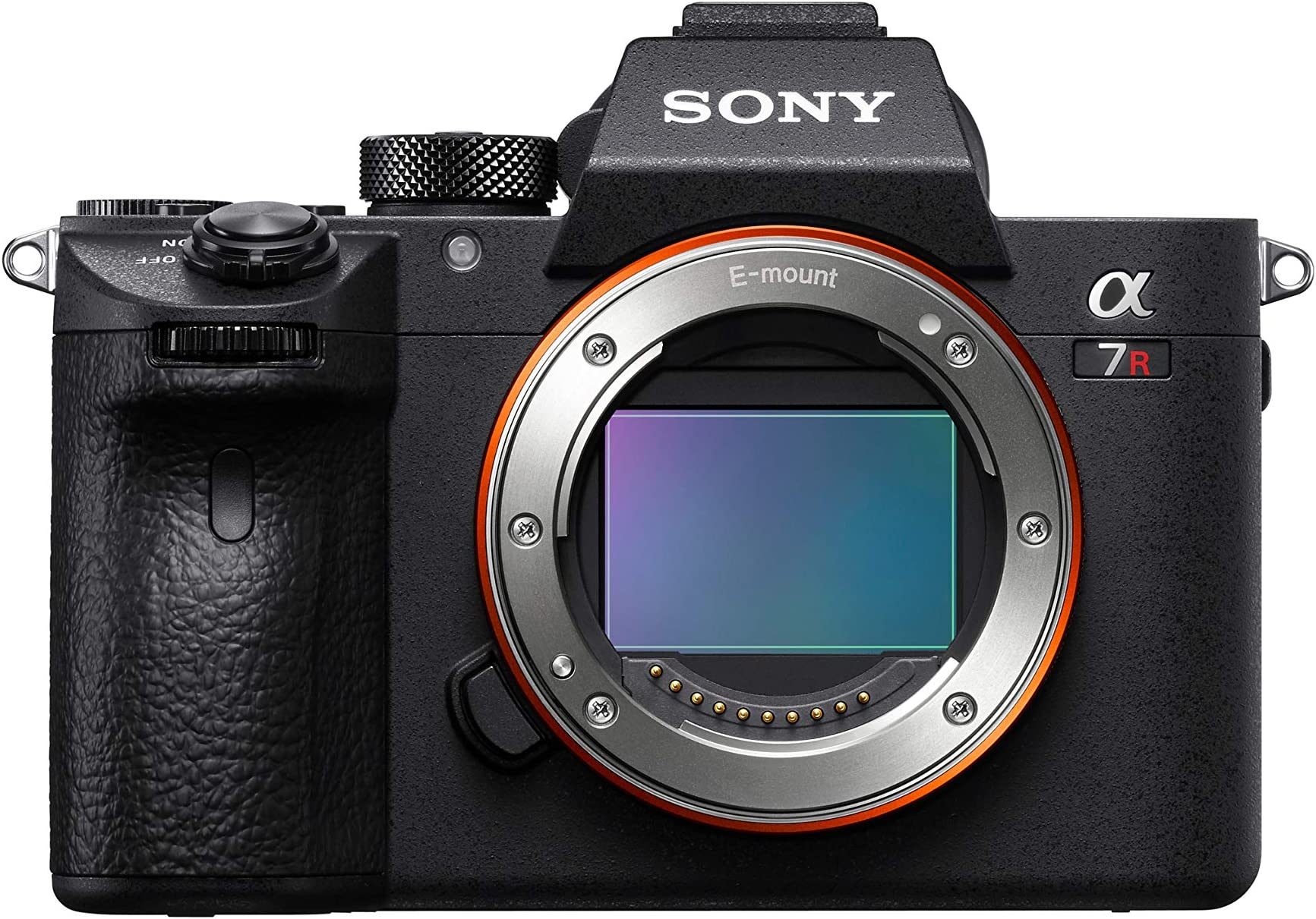 "Sony a7R III Mirrorless Camera: 42.4MP Full Frame High Resolution Interchangeable Lens Digital Camera with Front End LSI Image Processor, 4K HDR Video and 3"" LCD Screen - ILCE7RM3/B Body, Black"