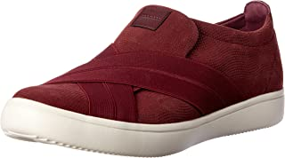 ROCKPORT Women's Casual Walking Ariell Cross Gore Shoe, Merlot, 5.5 US