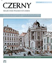 Czerny -- Selected Piano Studies, Vol 1 (Alfred Masterwork Edition)