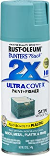 Rust-Oleum 316292 Painter`s Touch 2X Ultra Cover, 12 oz, Vintage Teal