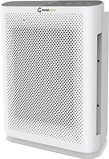 InvisiClean Aura II Air Purifier - 4-in-1 H13 True HEPA, Ionizer, Carbon + UV Light - Air Purifier for Allergies & Pets, V...