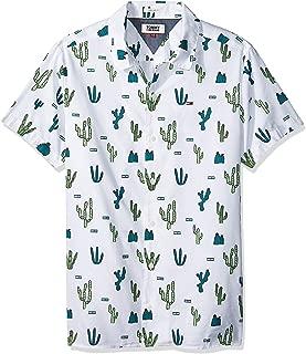Tommy Hilfiger Men's SU-White Shirts
