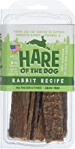 Hare Of The Dog 100% Rabbit Jerky For Large Dogs - All Natural, Grain Free Dog Treat, Limited Ingredients, Usa Made