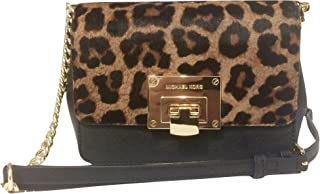 16e80dc42d98 Michael Kors Tina Small Clutch & Crossbody Bag in Cheetah Haircalf