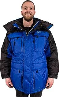 Warm Men's 3in1 Winter Jacket Coat Parka & Vest for Cold Weather