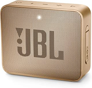 JBL GO2 - Waterproof Ultra Portable Bluetooth Speaker - Champagne