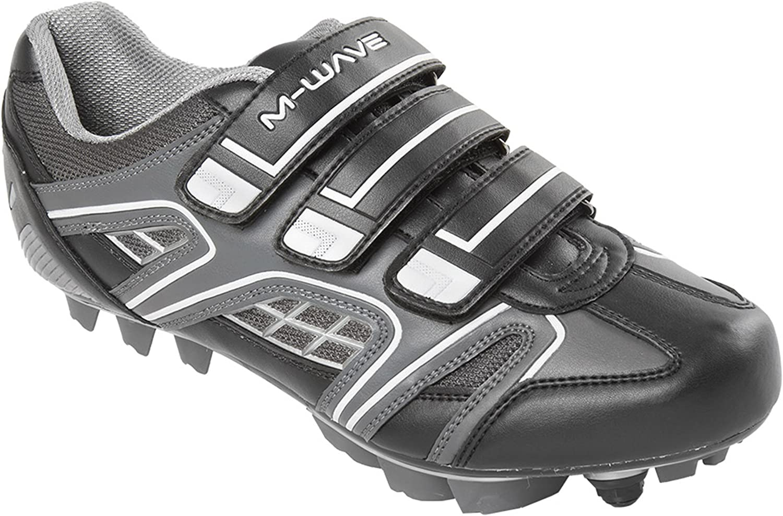 M Wave X1 Mountain Bike shoes, White Black, 39