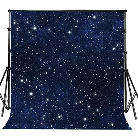 8x10 FT Backdrop Photographers,Psychedelic Northern Starry Sky with Spirit of A Wolf Aurora Borealis Display Background for Baby Shower Birthday Wedding Bridal Shower Party Decoration Photo Studio