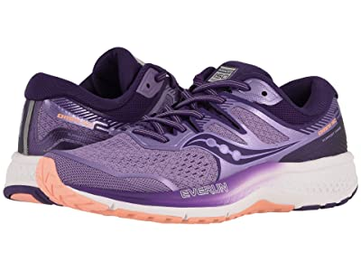Saucony Omni ISO 2 (Purple/Peach) Women