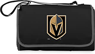 PICNIC TIME Unisex NHL Vegas Golden Knights Outdoor Picnic Blanket Tote 820-00-175-314-10, Black