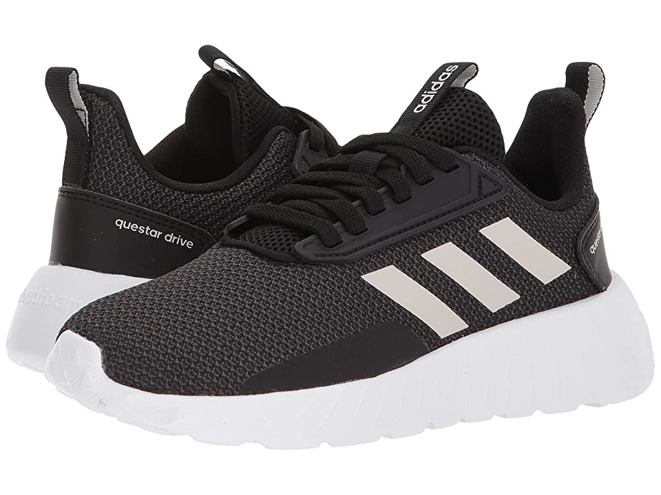 adidas Kids Questar Drive (Little Kid/Big Kid) (Black/Grey 1/Carbon) Kids Shoes