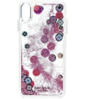 Kate Spade New York - Spade Liquid Glitter Phone Case for iPhone XS Max
