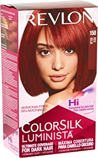 Revlon ColorSilk Luminista Hair Color [150] Red 1 ea (Pack of 2)