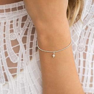 KLEINE PERLE ⸰ silberne Armkette