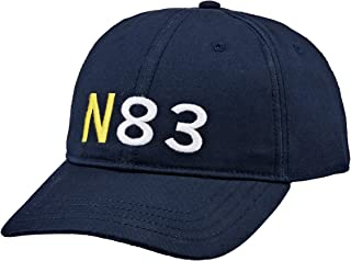 Nautica Men's 6 PANEL N83 CAP NAVY, Navy, One Size