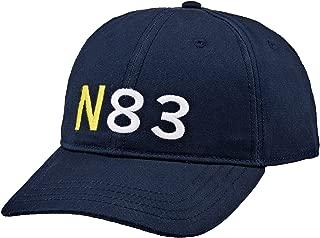 Nautica Men's 6 PANEL N83 CAP NAVY, Navy, One Size