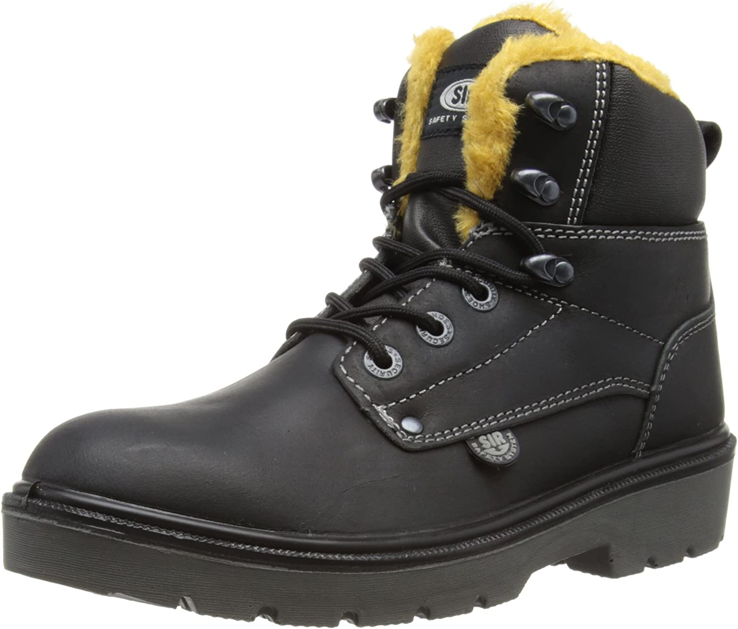 SIR Safety Unisex-Adult Winter Road High Safety Boots 26030A Black 12 UK, 46 EU