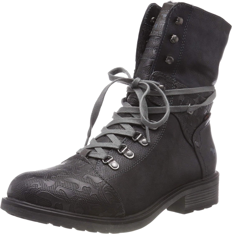 Mustang Damen Schnür-Stiefely Stiefeletten  | Fierce Kaufen  | Vorzüglich  | Gewinnen Sie das Lob der Kunden