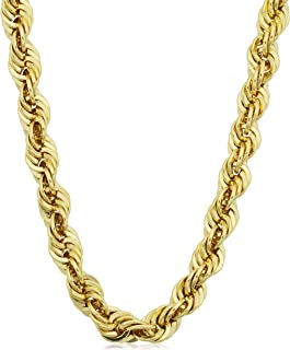 Best mens gold filled rope chain Reviews