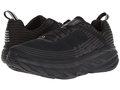 Hoka One One Bondi 6 (Black/Black) Men