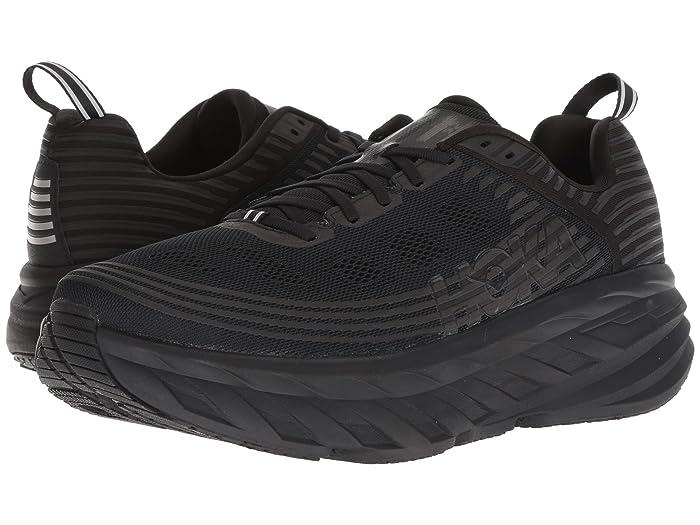 Hoka One One  Bondi 6 (Black/Black) Mens Running Shoes