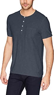 Calvin Klein Men's Short-Sleeve Cotton Henley T-Shirt