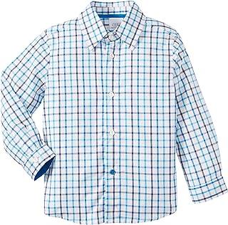 قميص إيج باي سوزان لازار للأولاد - أزرق - 24 شهر