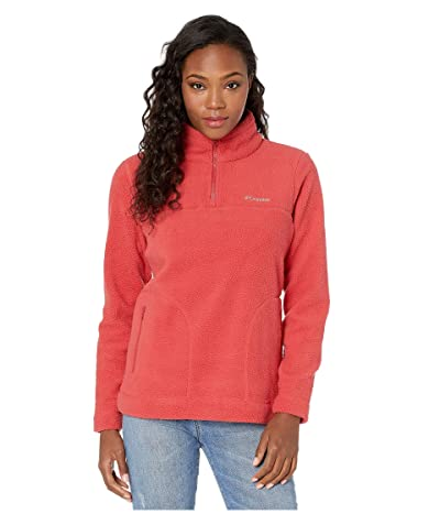 Columbia Canyon Pointtm Sherpa Pullover (Daredevil) Women