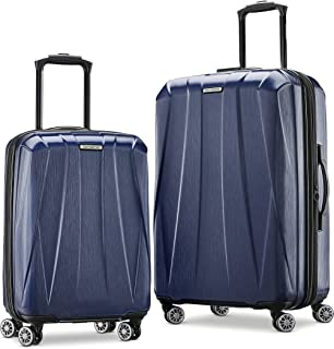 Samsonite Centric 2 Hardside Expandable Luggage with Spinner Wheels, True Navy, 2-Piece Set (20/24)