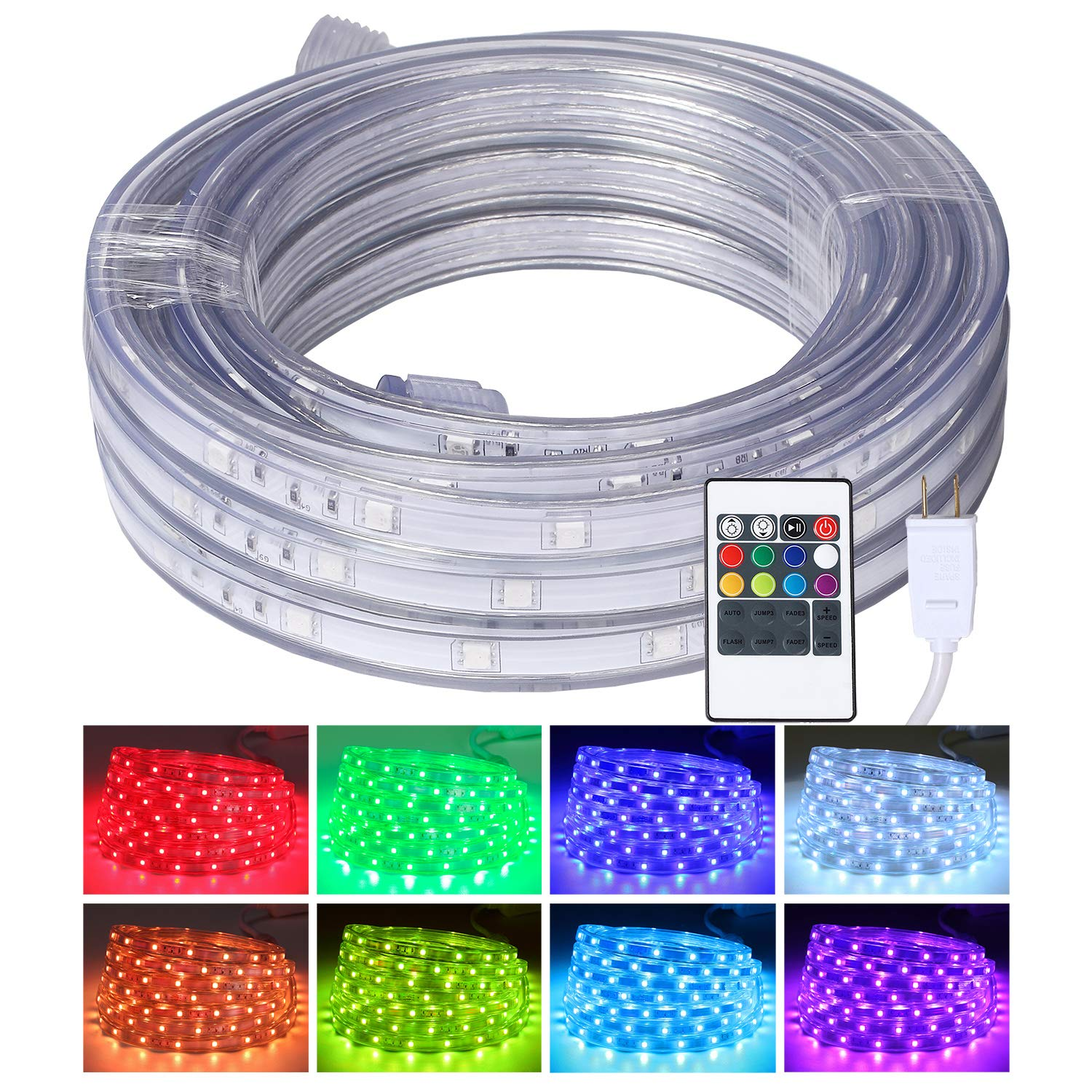 Flexible Changing Waterproof Connectable Decorative