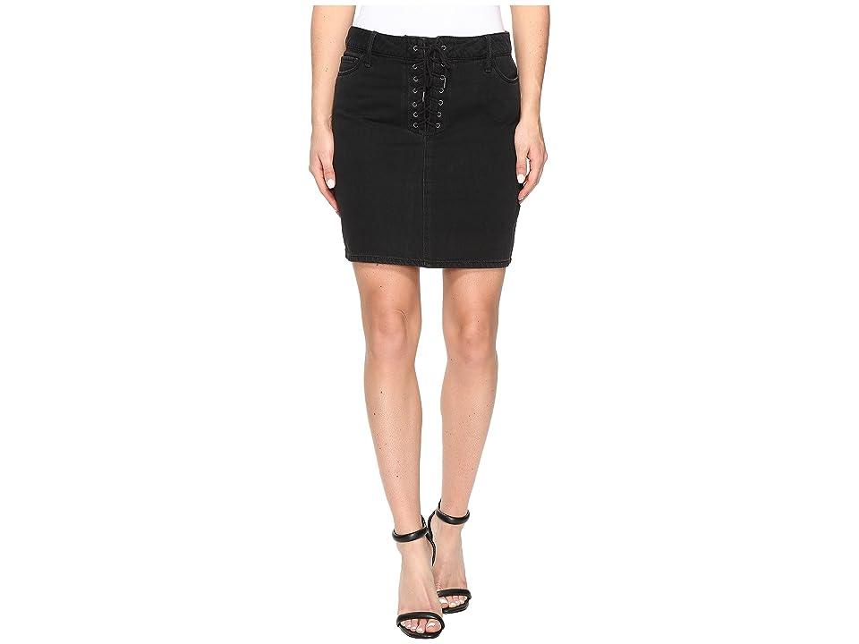 Paige Iris Skirt (Nightingale Black) Women