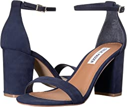 1822ff9b5134 Navy Nubuck. 433. Steve Madden. Exclusive - Declair Block Heeled Sandal