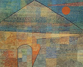 Posterazzi Ad Parnassum 1932 Poster Print by Paul Klee (18 x 24)