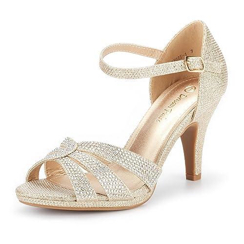 087da2e3fbfd DREAM PAIRS Women s Amore Fashion Stilettos Open Toe Pump Heel Sandals