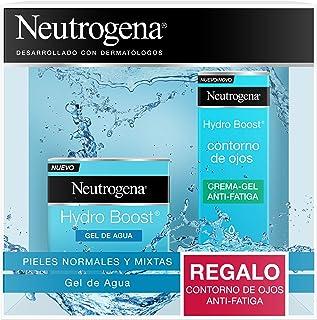 Neutrogena Hydro Boost Hidratante Facial Pack Gel de Agua y Contorno de Ojos 15 ml