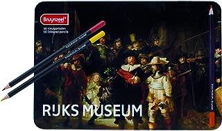 Royal Talens Bruynzeel Rijks Museum Edition, Artists' Set of 50 Design Colored Pencils (5700M50)