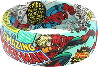Marvel - Spider-Man Silicone Ring by Groove Life - Breathable Rubber Wedding Rings for Men, Lifetime Coverage, Unique Desi...